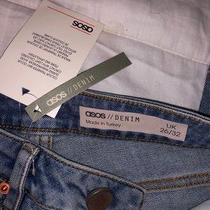 NWT ASOS High Waisted Jeans